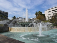 LA fountain
