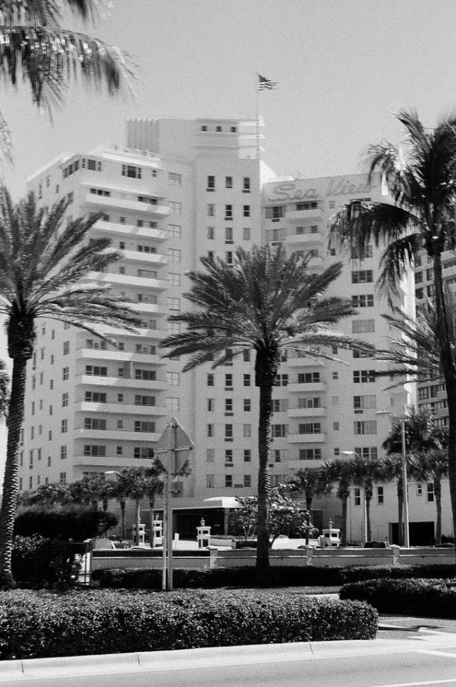 Mid Century Sea View Hotel by Phillip Pessar
